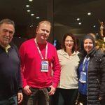 Prominenter Besuch beim Weltcup an der Bobbahn und in Winterberg