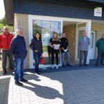 Winterberger SPD bei der Neueröffnung der Adventure Golf Anlage in Hildfeld